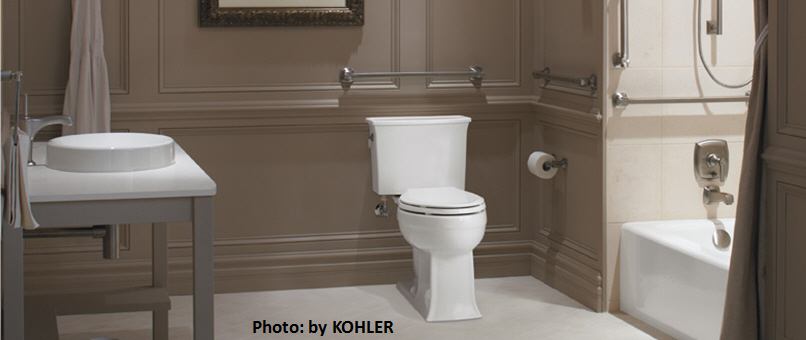 Bathroom Solutions for the Ages, the Elderly, the Disabled