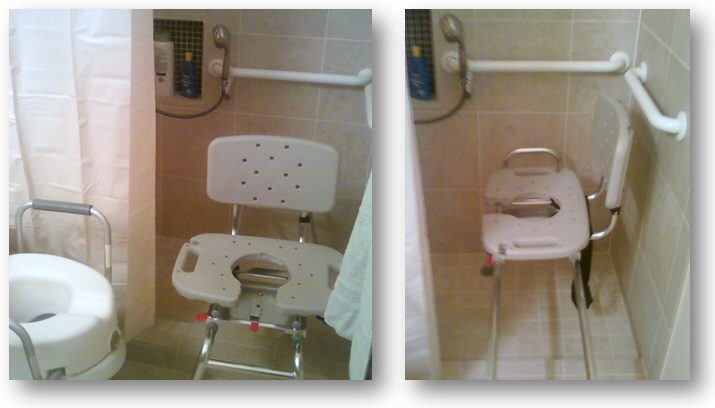 Remodeling a bathroom for a disabled grandma
